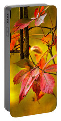 Fall Colors Portable Battery Charger by Eduard Moldoveanu