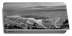 Portable Battery Charger featuring the photograph Ferrol's Ria Panorama From Mount Ancos Galicia Spain by Pablo Avanzini