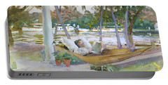 Figure In Hammock, Florida Portable Battery Charger