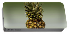 Portable Battery Charger featuring the photograph Fresh Ripe Pineapple Fruits by David French