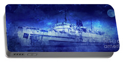 Ghost Ship Portable Battery Charger