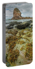 Portable Battery Charger featuring the photograph Gwenfaens Pillar by Ian Mitchell
