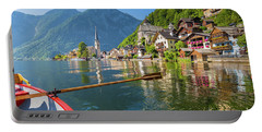 Hallstatt Portable Battery Charger by JR Photography