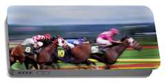 Horse Race Portable Battery Charger