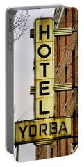 Hotel Yorba Portable Battery Charger by Gordon Dean II
