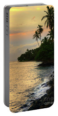 Lahaina Sunset Portable Battery Charger by Kelly Wade