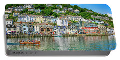 Looe In Cornwall Uk Portable Battery Charger by Chris Smith