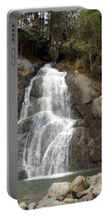 Moss Glen Falls Portable Battery Charger by Catherine Gagne