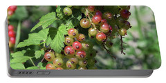 Portable Battery Charger featuring the photograph My Currant by Elvira Ladocki