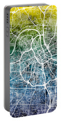 Nashville Tennessee City Map Portable Battery Charger