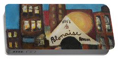 Portable Battery Charger featuring the painting Nye's Polonaise Room by Susan Stone