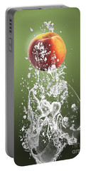 Peach Splash Portable Battery Charger