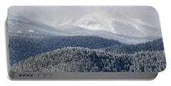 Pikes Peak In Snow Portable Battery Charger