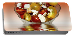 Plum Cherry Tomatoes Portable Battery Charger