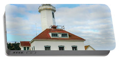 Point Wilson Lighthouse Portable Battery Charger by E Faithe Lester