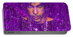 Prince Purple Rain Tribute Portable Battery Charger