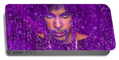 Prince Purple Rain Tribute Portable Battery Charger