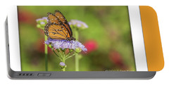 Monarch Butterfly Portable Battery Charger by Tam Ryan