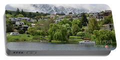 Queenstown New Zealand. Remarkable Ranges And Lake Wakatipu. Portable Battery Charger