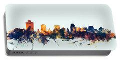 Salt Lake City Skyline Portable Battery Charger