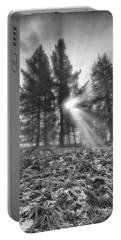 Portable Battery Charger featuring the photograph Scottish Sunrise by Jeremy Lavender Photography