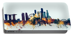Singapore Skyline Portable Battery Charger