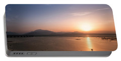 Portable Battery Charger featuring the photograph Sirmione by Traven Milovich