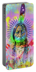 Sitting Bull Portable Battery Charger by Gary Grayson