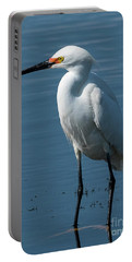 Snowy White Egret Portable Battery Charger