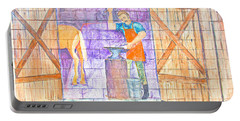 Street Art - Melba, Id Portable Battery Charger