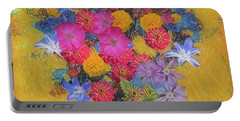 Portable Battery Charger featuring the photograph Summer Flowers by Vladimir Kholostykh