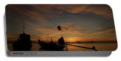 Sunrise On Koh Tao Island In Thailand Portable Battery Charger