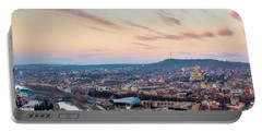 Portable Battery Charger featuring the photograph View Of Tbilisi by Fabrizio Troiani