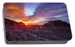 Portable Battery Charger featuring the photograph The Enchantments by Evgeny Vasenev