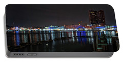 Portable Battery Charger featuring the photograph The Harbor View by Mark Dodd