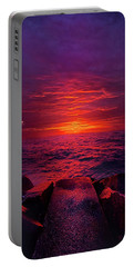 Portable Battery Charger featuring the photograph The Path by Phil Koch