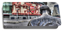 Thierry Henry Statue Emirates Stadium Portable Battery Charger