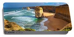 Portable Battery Charger featuring the photograph Twelve Apostles Great Ocean Road by Bill  Robinson