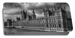 Portable Battery Charger featuring the photograph Westminster Palace by Pravine Chester