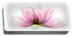 X-ray Of Peony Flower Portable Battery Charger
