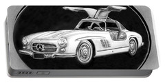 300 Sl Gullwing Portable Battery Charger