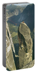 306540 Climbers On Lost Arrow 1967 Portable Battery Charger