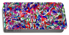 Portable Battery Charger featuring the digital art B T Y L by James Lanigan Thompson MFA