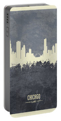 Chicago Illinois Skyline Portable Battery Charger