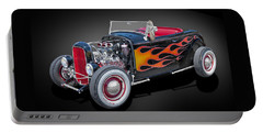 32 Ford High Boy Portable Battery Charger by Gary Warnimont