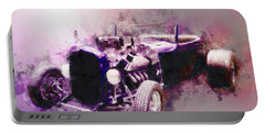 32 Ford Low Boy Roadster Watercoloured Sketch Portable Battery Charger