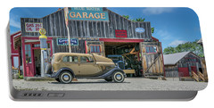 '34 Ford Sedan At Blue Water Garage Portable Battery Charger