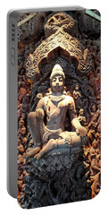 World Peace Activist Portable Battery Charger by John Potts
