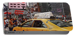 Portable Battery Charger featuring the photograph 34th Street New York City by Joan Reese