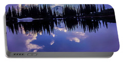 35mm Scan Of Image Lake And Glacier Peak Portable Battery Charger